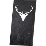 Memo board deer head slate