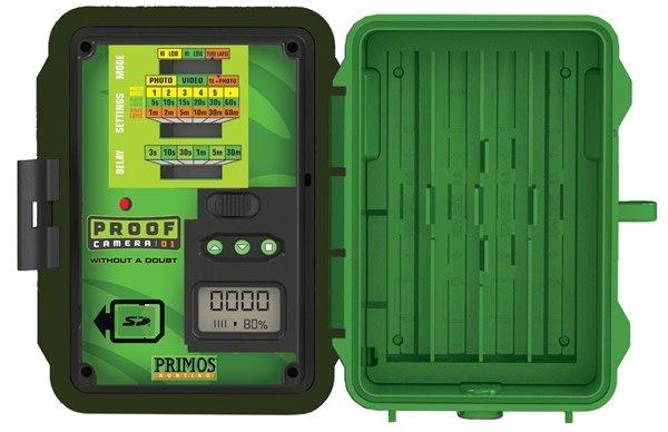 Primos 12MP proof cam 02, matrix camo, low glow