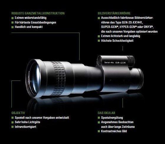 Jahnke DJ8 mit Magnesium Objektiv 5x Premium Plus