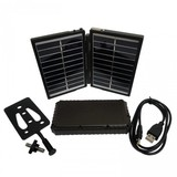 Boly Media Trail Camera Solar Panel Charger and 7200mAh Power Bank