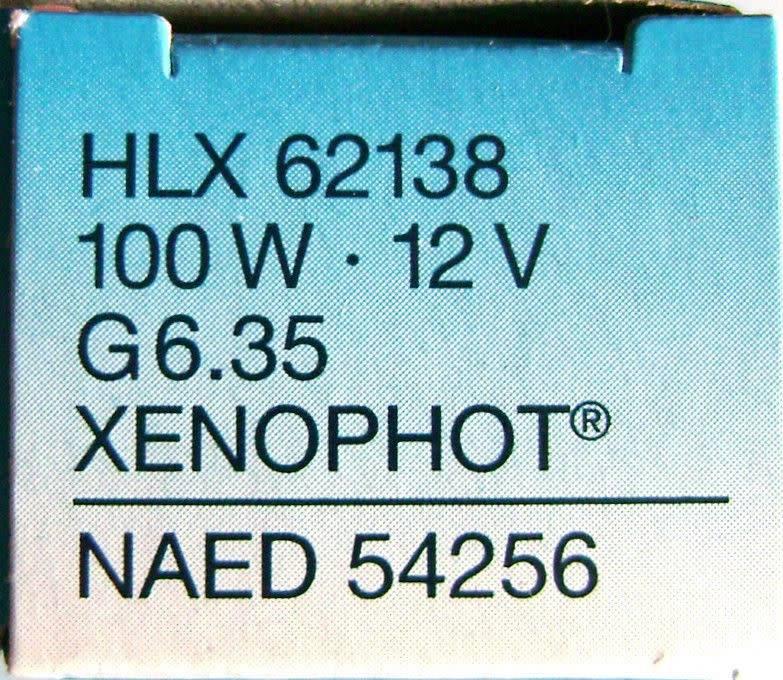LightForce Globe HLX 12V 100W G6.35 54256