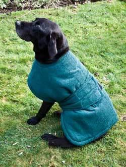 Turner Richards Toweling Dog Coats