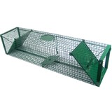 Wire box trap extra strong approx. 120x28x28 cm