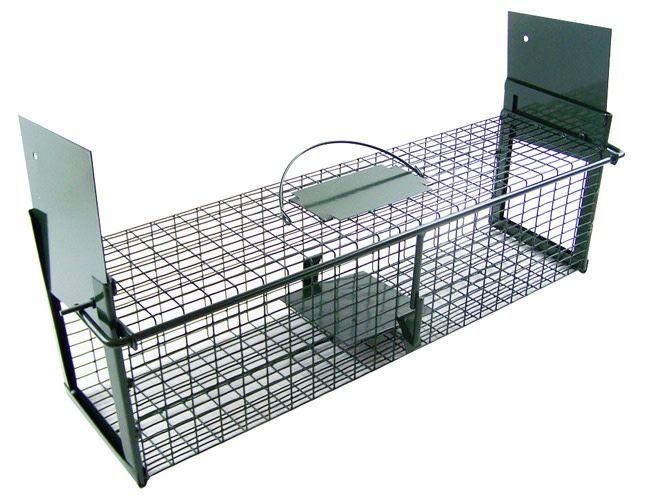 Vangkooi met 2 ingangen