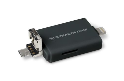 Stealth Cam Tri-Device Memory Card Reader