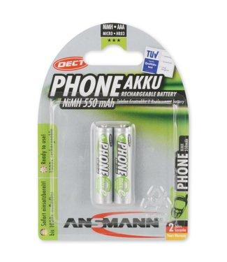 Ansmann NiMH 550 mAh Phone Micro