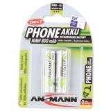 Ansmann NiMH 800mAh Phone Mignon
