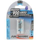 Ansmann NiMH fotobatterij Micro Type 900 min. 800mAh