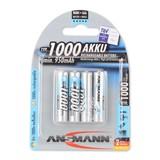 Ansmann NiMH 1000mAh Micro