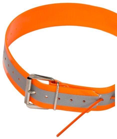 Tracker Reflecterende halsband oranje