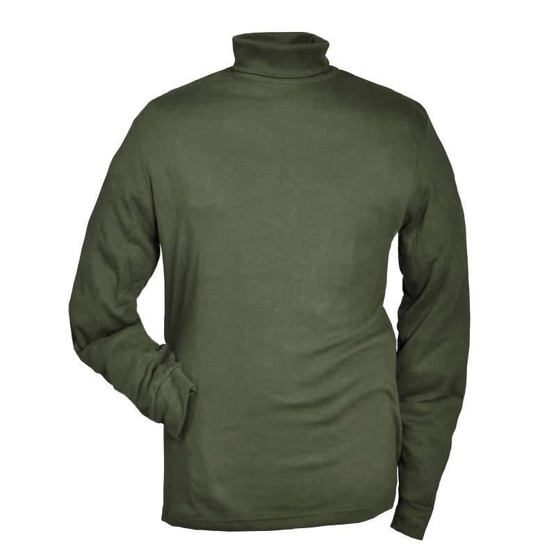 Hubertus Shirt Rollkragen
