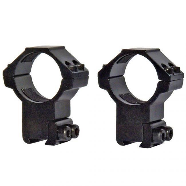 Lensolux Halterungen für 11mm Prismenschiene 2-teilig Alu-Befestigung