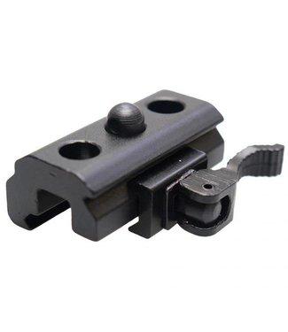 Lensolux Bi-Pod Adapter für 21,5 mm Weaver / Picatinny Schiene
