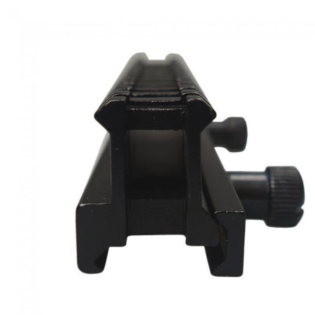 Lensolux Höhenadapterschiene von 21,5 mm bis 21,5 mm (Weaver / Weaver)