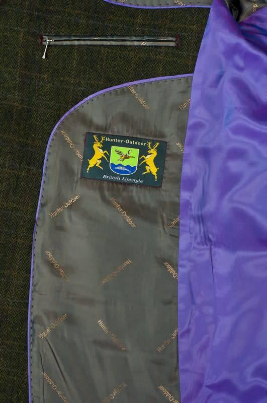 Hunter-Outdoor Fern Wool Blazer