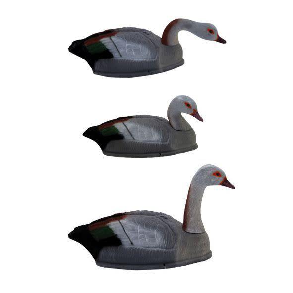ProLoo Lokvogel nijlgans 6 stuks geflockt stapelbaar