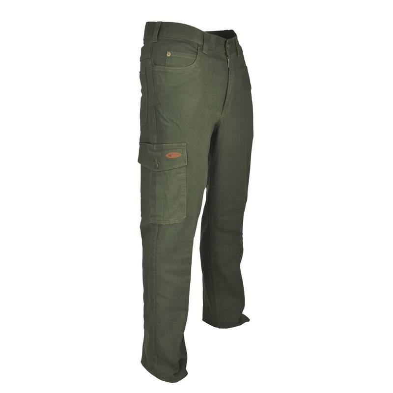 Hubertus Stretch jacht jeans met beenzak