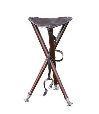 Parforce 3-poot aanzitstoel met metalen uiteinden
