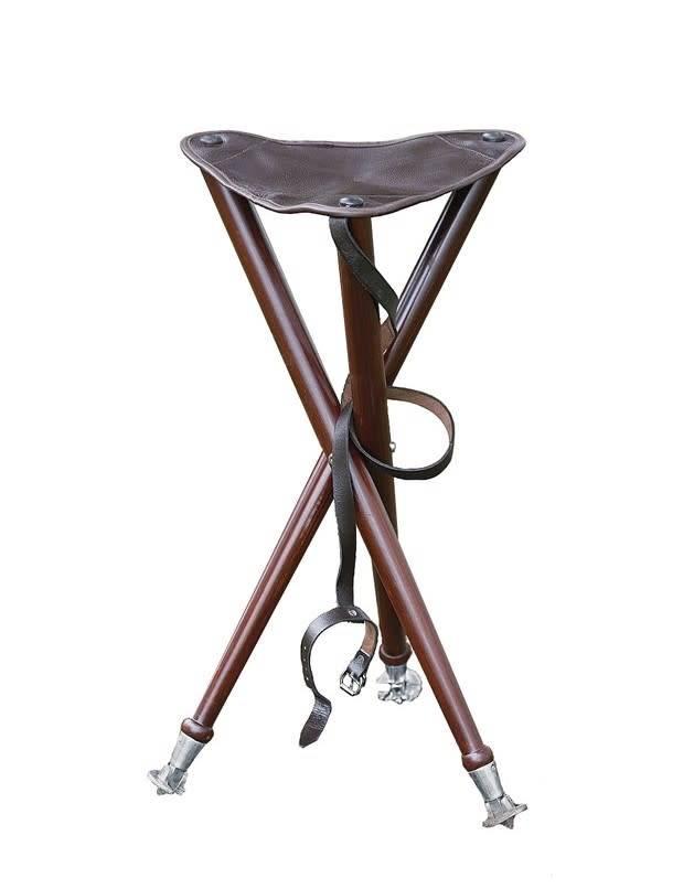 Parforce Dreibein-Ansitzstuhl mit Metallspitzen