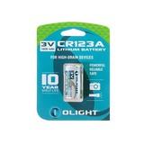 Olight CR123A Lithium battery 3V 1600mAh