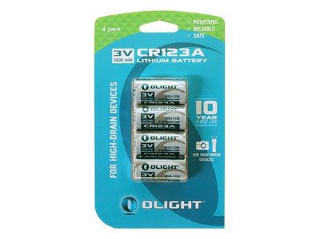 Olight CR123A Lithiumbatterie 3V 1600mAh