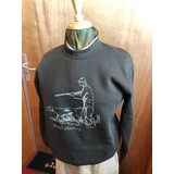 "Hubertus Sweatshirt met ronde hals ""Rough Shooting"""
