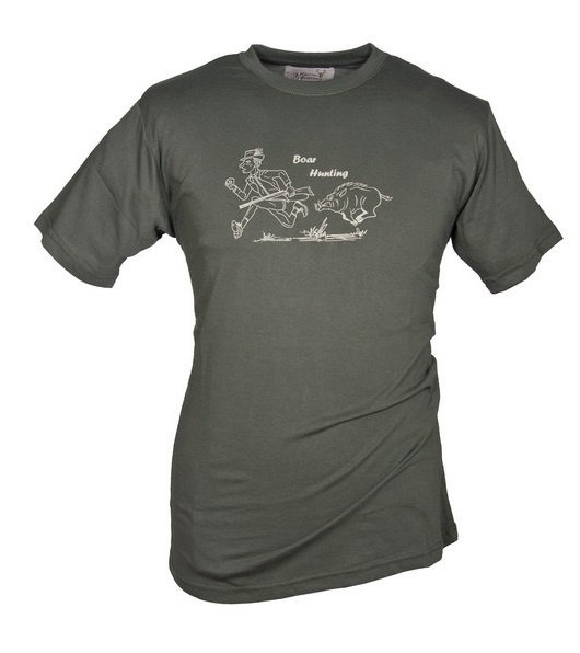 "Hubertus T-shirt ""Boar"""