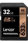 Lexar SDHC Professional UHS-I 633x 32 GB