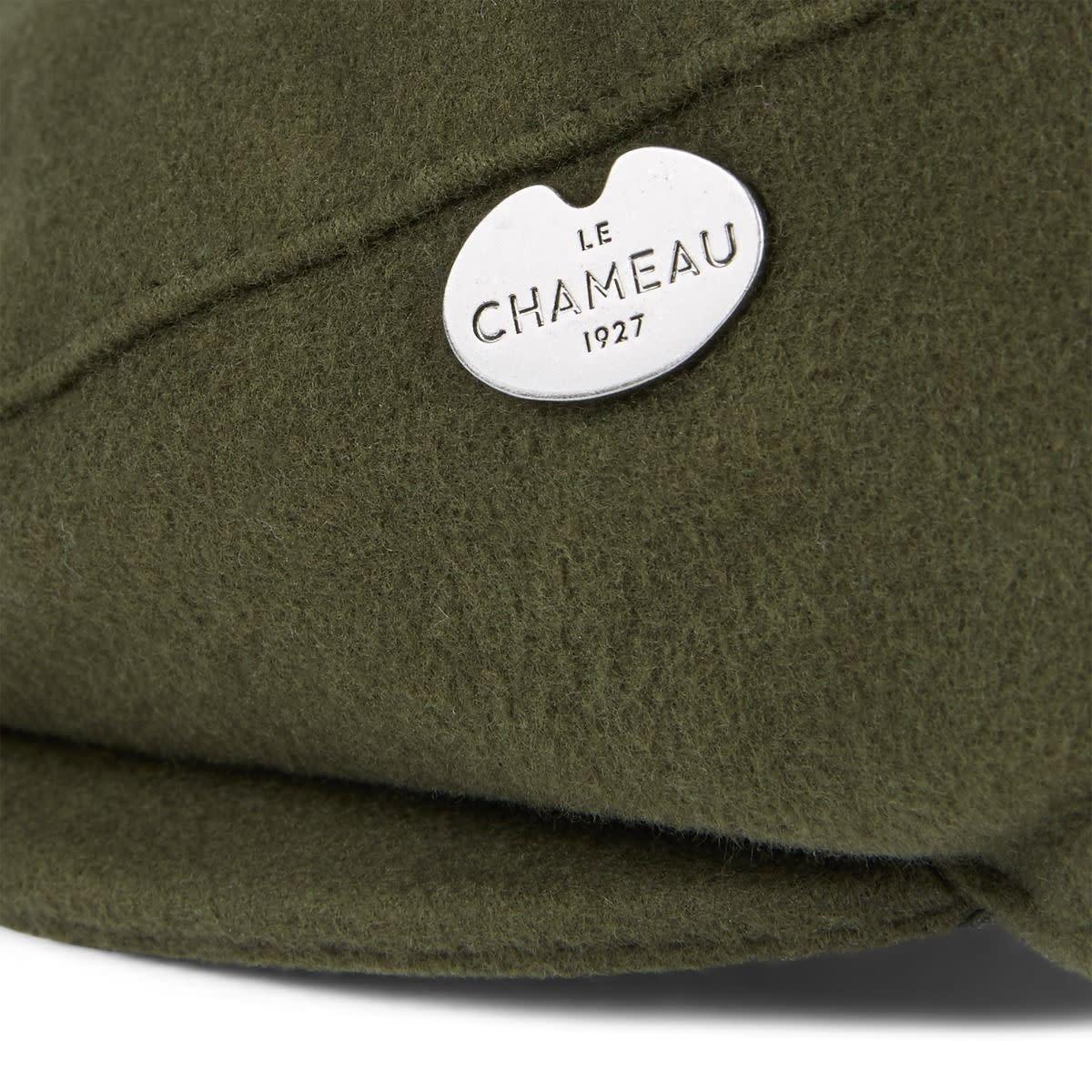 Le Chameau Moleskin Flat Cap