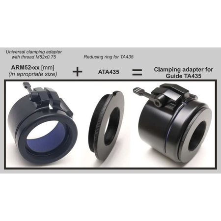 Rusan Reducing ring for Guide TA435 / Bering Optics Hogster / Lahoux clip