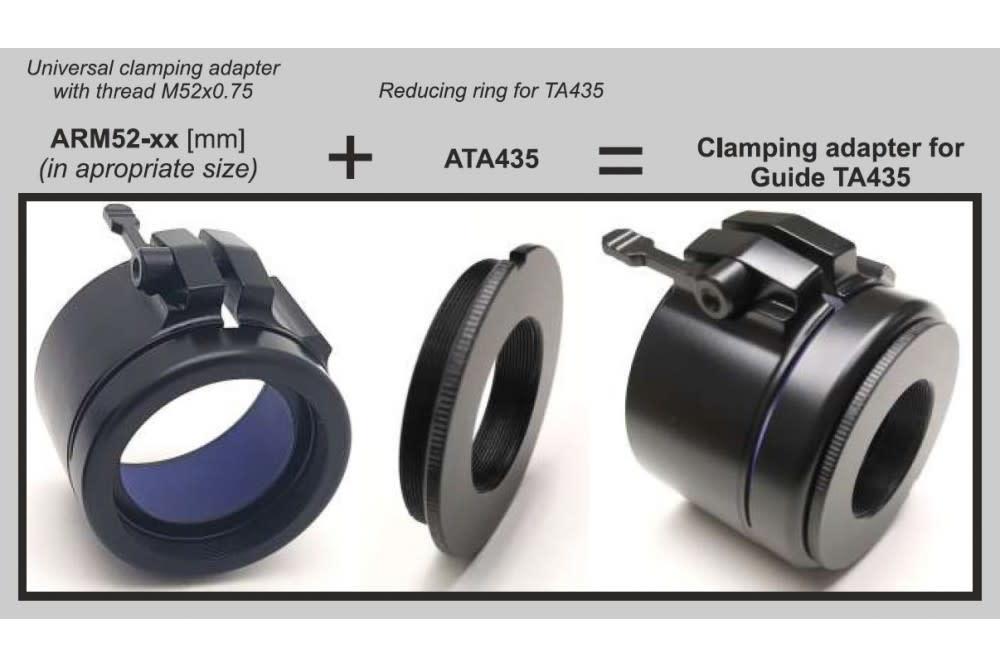 Rusan Reduceerring voor Guide TA435 / Bering Optics Hogster / Lahoux clip