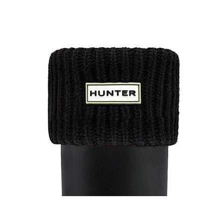Hunter Gerippte Manschetten-Boot-Socken