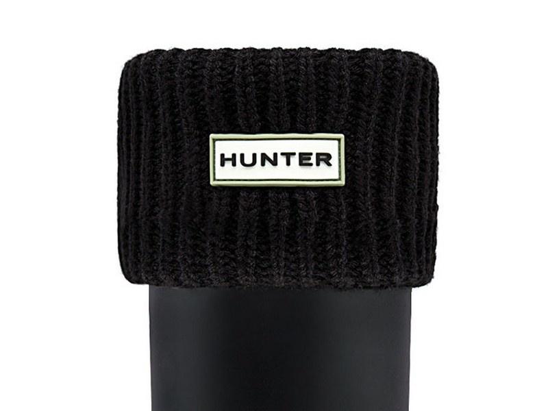 Hunter Laarsokken met geribde manchet