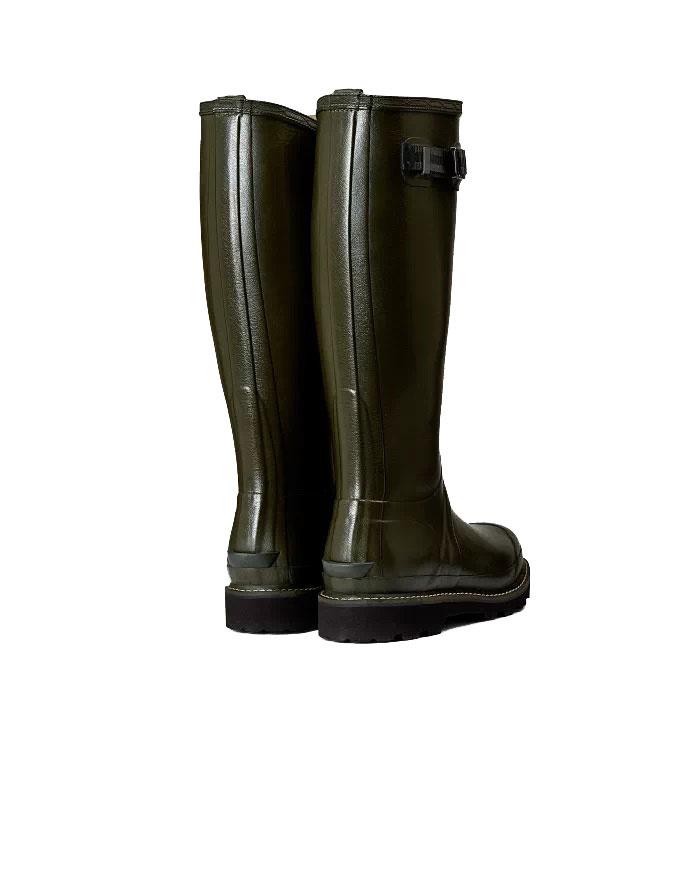 Hunter Balmoral poly-gevoerde Wellington laarzen