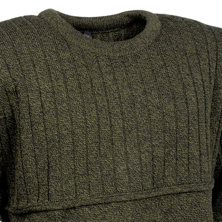 AKAH Hunter round neck sweater green