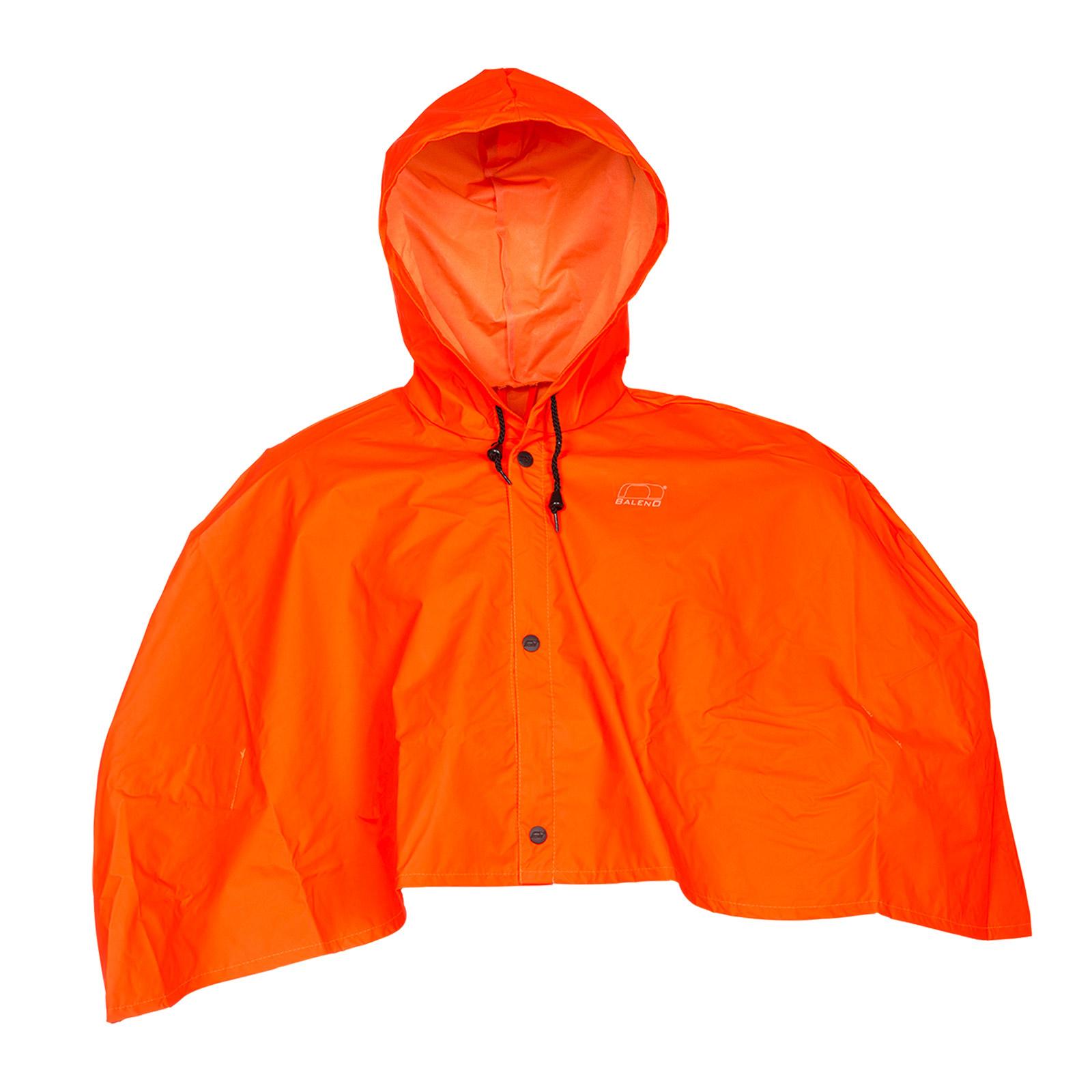Baleno Torrent Poncho Orange One-Size