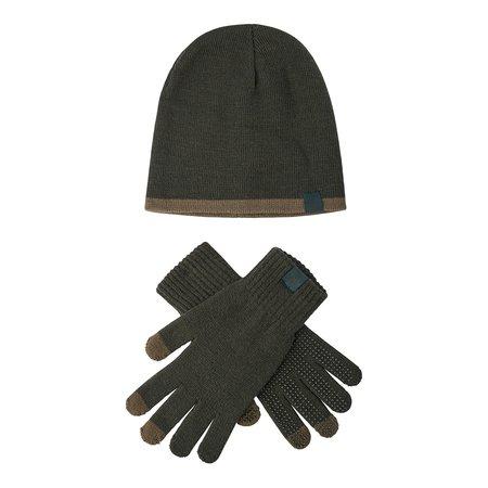 Deerhunter Hat and Gloves Set