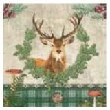 Fritzmann Napkins deer head