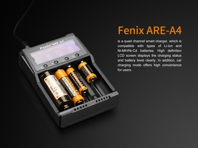 Fenix ARE-A4 Oplader
