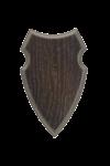 Eurohunt Trofeeplankje Ree Eiken 3, 19x12cm Donker