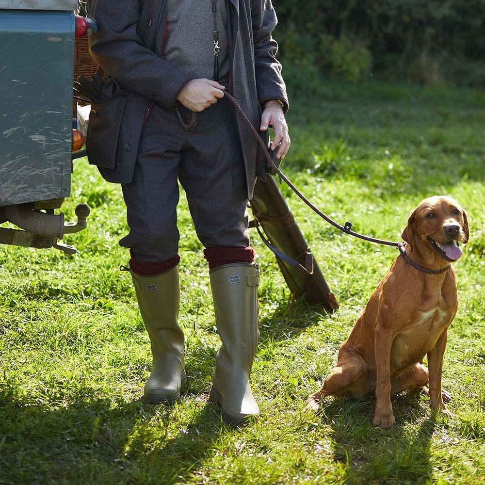 Le Chameau Men's Chasseur Neoprene Lined Boot