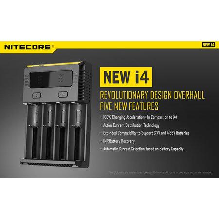 Nitecore Intellicharger NEW i4