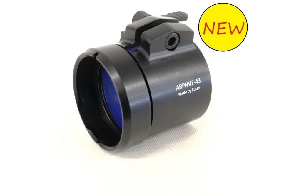Rusan QR-adapter uit één stuk voor Pard NV007