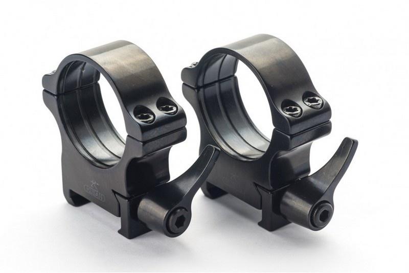 Rusan Weaver rings 30mm quick-release