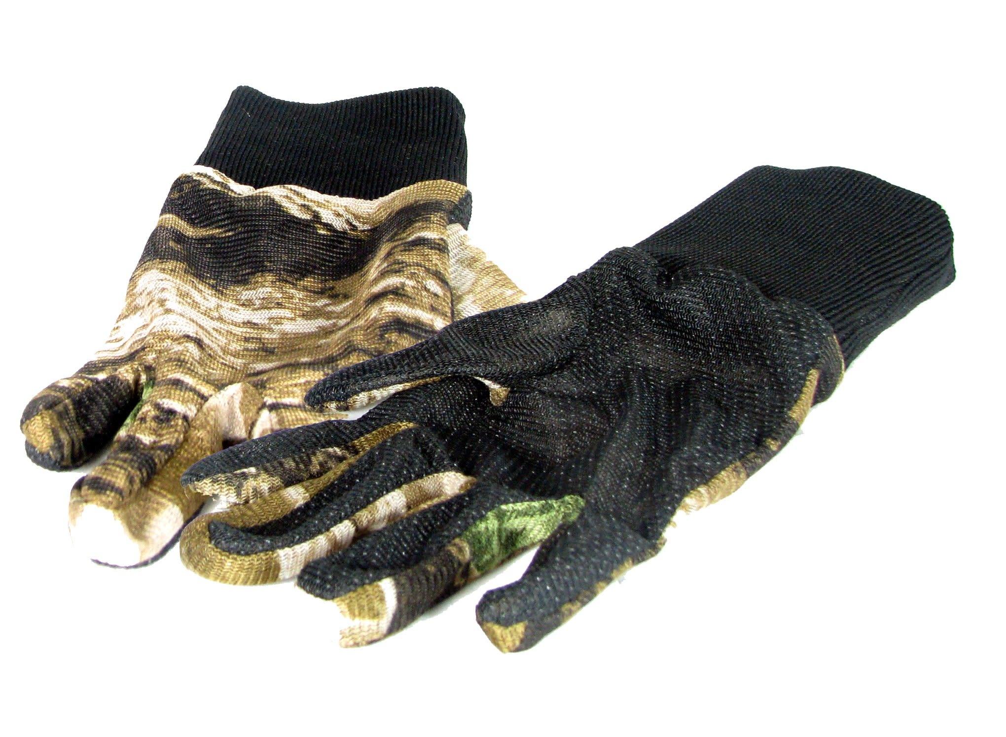 Wildhunter Tarnung Netz-Handschuhe mit rutschfesten Griff