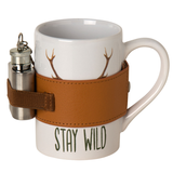 AKAH Porcelain mug 'Stay Wild'