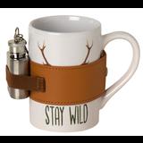 AKAH Porseleinen mok 'Stay Wild'