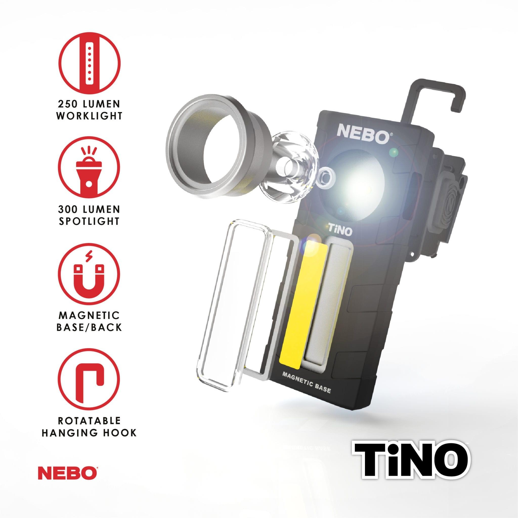 Nebo TiNO Werklamp