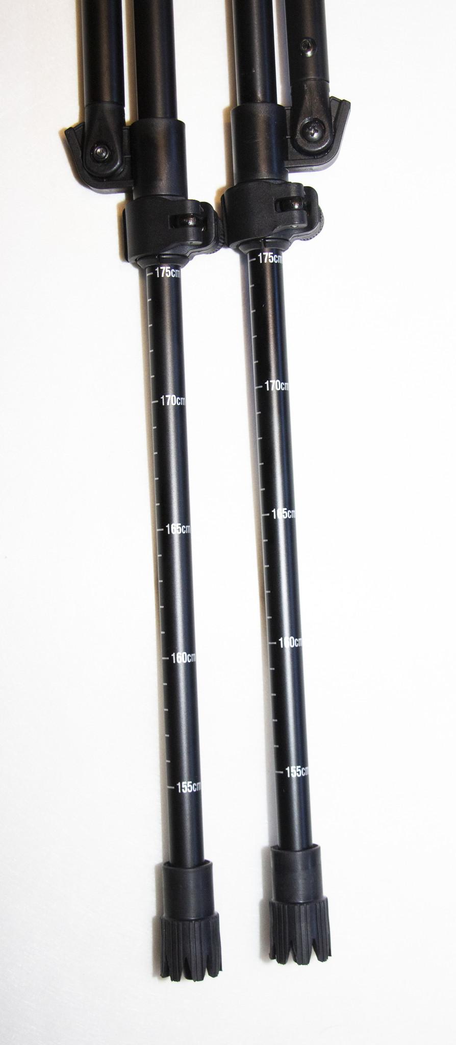 Mjoelner Schießstock 4-Beine Fenris I, Traveller, Schwarz