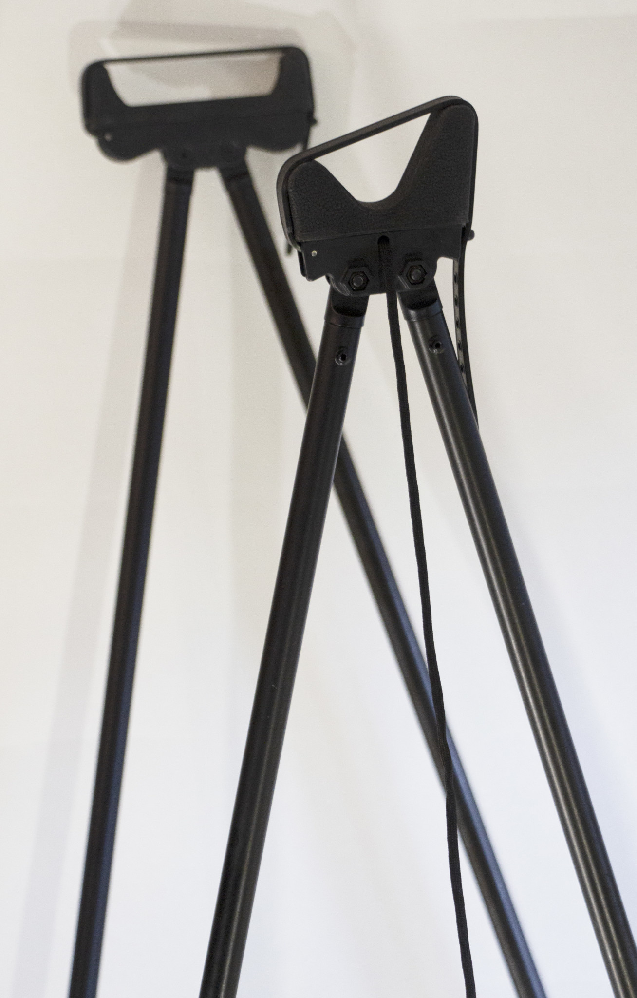 Mjoelner Schießstock 4-Bein Fenris II, Schwarz, Alu